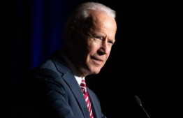 Joe Biden, former US Vice President and current Democratic presidential hopeful for the United States Presidential Elections in 2020. PHOTO: AFP