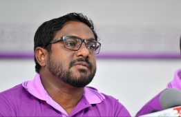 President Ibrahim Mohamed Solih on March 16, appointed Amjad Mustafa as the head of the Employment Tribunal. PHOTO: HUSSAIN WAHEED / MIHAARU