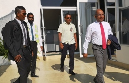 Ministry of Foreign Abdulla Shahid departs to Germany. PHOTO: MINISTRY OF FOREIGN AFFAIRS