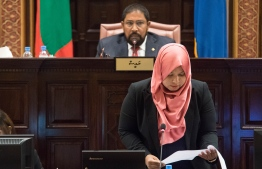 Parliament Secretary Fathamth Niusha. PHOTO: PARLIAMENT