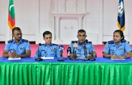 POLICE PRESS CONFERENCE 2019