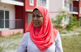 Minister of Housing and Urban Development Aminath Athifa. PHOTO: HOUSING