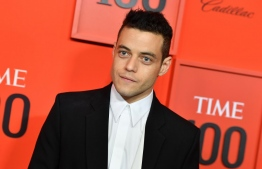 US actor Rami Malek arrives on the red carpet for the Time 100 Gala at the Lincoln Center in New York on April 23, 2019. (Photo by ANGELA  WEISS / AFP)