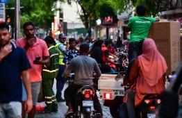 Ramadan Preparations 2019 / Traffic / Road / PHOTO: HUSSAIN WAHEED/MIHAARU