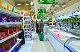 A supermarket in the capital city of Male'. PHOTO: MIHAARU