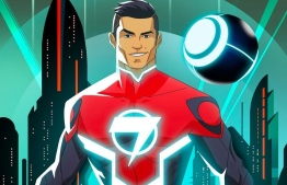 Cristiano Ronaldo has created a comic book series where he turns into a superhero. PHOTO: HYPEBEAST