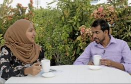 Managing Director Murthala Moosa and Program Specialist Jala Zuhury from Advocating the Rights of Children (ARC) sit down with The Edition to discuss the NGO's efforts to ensure protection for the children of Maldives. PHOTO: HAWWA AMAANY ABDULLA