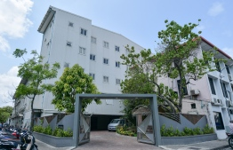 Ministry of Housing and Urban Deveopment, located in the capital city Male'. PHOTO: NISHAN ALI / MIHAARU