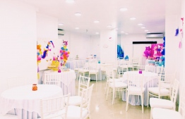Inside the party hall of Ribbons n Balloons. PHOTO: RIBBONS N BALLOONS