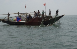 A fishing boat in Bangladesh employing nets into the open sea to trawl for fish. It is not common practice for those who favour sustainable methods of fishing. PHOTO: MIHAARU STOCK PHOTOS