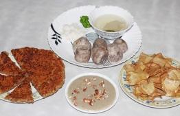 Five different dishes prepared from 'Ala' (taro). PHOTO: HAWWA AMAAANY ABDULLA