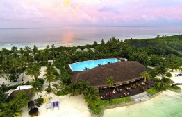An aerial view of Canareef Resort. PHOTO: CANAREEF RESORT