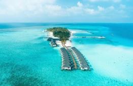 Aerial photograph of Summer Island Resort. PHOTO: SUMMER ISLAND RESORT