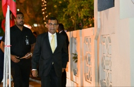 Parliament Speaker Mohamed Nasheed. He stated that other organisations cannot interfere with the Judicial Service Commission carrying out their lawful duty. PHOTO: MIHAARU