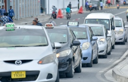 Taxis to operate using metre fares starting July. PHOTO: NISHAN ALI/MIHAARU