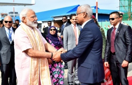 Prime Minister of India  Narendra modi concludes State Visit to the Maldives