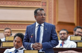 Kaashidhoo MP Abdulla Jabir was appointed Dhivehi Rayyithunge Party Leader on Tuesday. PHOTO: PARLIAMENT