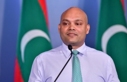 Newly appointed Secretary of Communications at the President's Office Ibrahim Hood. Prior to this appointment, Hood served as PO's Chief Communications Strategist. PHOTO: MIHAARU