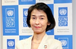 Akiko Fujii, the UNDP Resident Representative to the Maldives. PHOTO/UNDP