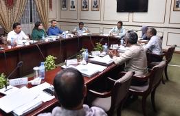 A meeting of the Parliament's Judiciary Committee. PHOTO: NISHAN ALI/ MIHAARU