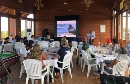 Sustainable Oceans Initiative workshop launched in K. Dhiffushi. PHOTO: MINISTRY OF ENVIRONMENT.