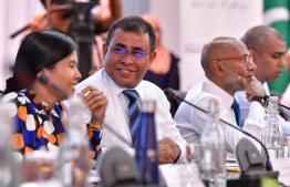 Minister of Tourism Abdulla Mausoom. PHOTO: MIHAARU