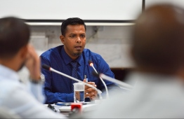 Auditor General Hassan Ziyath: he has resigned as AG after his name was published in the MMPRC beneficiaries list -- Photo: Mihaaru