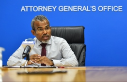 The Attorney General on Monday declared his legal opinion that a constitutional amendment is required to extend the term of outgoing local councillors. PHOTO: MIHAARU