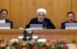 Iranian president Hassan Rouhani said in May that Tehran would stop observing restrictions it had agreed to in the nuclear deal in retaliation for the US withdrawal from the JCPOA Iranian presidency. PHOTO: AFP/FILE