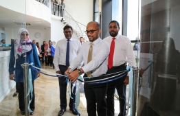 MMA unveils the 'Currency Gallery', showcasing the series of Maldivian currency throughout history. PHOTO/MMA