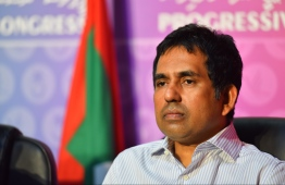 PNC vice president and Maavah MP Mohamed Saeed. PHOTO: HUSSAIN WAHEED/ MIHAARU