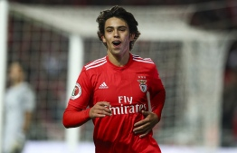 After being thrashed by Bayern Munich last week, Joao Felix scored twice as Atletico Madrid beat Salzburg 3-2 in the Champions League on Tuesday. PHOTO: MIHAARU