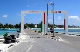 Causeway in Addu Atoll. PHOTO: MIHAARU FILES