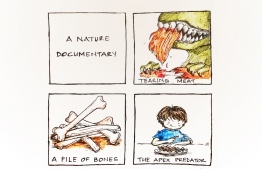 Comic of the Day - A Nature Documentary. ILLUSTRATION/NUHA NASHEED