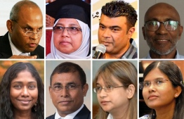 Some of the Maldivian ambassadors approved for non-resident ambassadorship by the parliament. IMAGE/MIHAARU