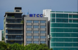 MTCC headquarters in Male' City. FILE PHOTO: HUSSAIN WAHEED / MIHAARU