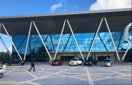 The exterior of Addu Equatorial Hospital. PHOTO: MIHAARU