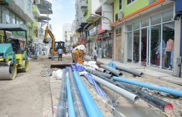 Minister of Planning and Infrastructure Mohamed Aslam affirmed that 36 projects included in the budget were launched and underway presently. PHOTO: MIHAARU