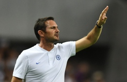 Chelsea's head coach Frank Lampard. (Photo by CHARLY TRIBALLEAU / AFP)