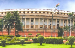"""The main opposition Congress party warned the proposed law was """"draconian"""" and could turn India into a """"police state"""". PHOTO: PARLIAMENT OF INDIA"""