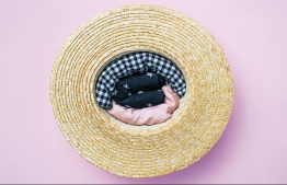 How to pack a straw hat. PHOTO: GOOGLE