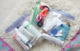 Multipurpose ziplock bags come in handy when packing for holidays. PHOTO: GOOGLE IMAGE