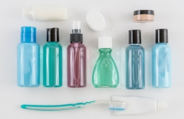 Mini versions of toiletries. PHOTO: GOOGLE IMAGE