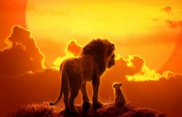 Official poster for Disney's 'The Lion King', directed by Jon Favreau.