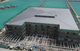 The new seaplane terminal being developed at VIA; MACL stated that 73 percent of development is complete.