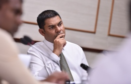 Mp Mohamed Niyaz was appointed as the Chair of Budget Committee. PHOTO: NISHAN ALI / MIHAARU