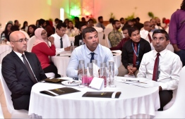 During the inaugural function of the Maldives Accountants Forum 2019 on August 27, 2019. PHOTO: NISHAN ALI / MIHAARU