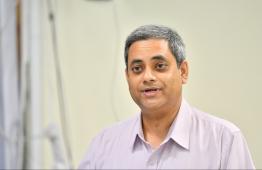 President of the Bar Council Maumoon Hameed. PHOTO: HUSSAIN WAHEED/ MIHAARU