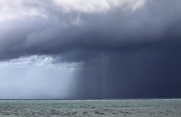 A storm rages over the open sea. PHOTO: United Nations Development Programme (UNDP)