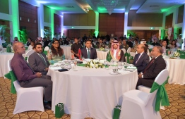 Vice President Faisal Naseem attends reception held at Kurumba Maldives Resort to commemorate 89th National Day of Saudi Arabia. PHOTO: PRESIDENT'S OFFICE